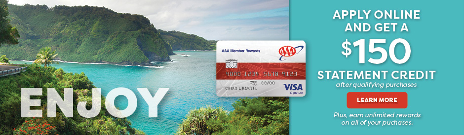 Get the AAA Visa Card!