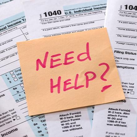 Tax Preparation Help