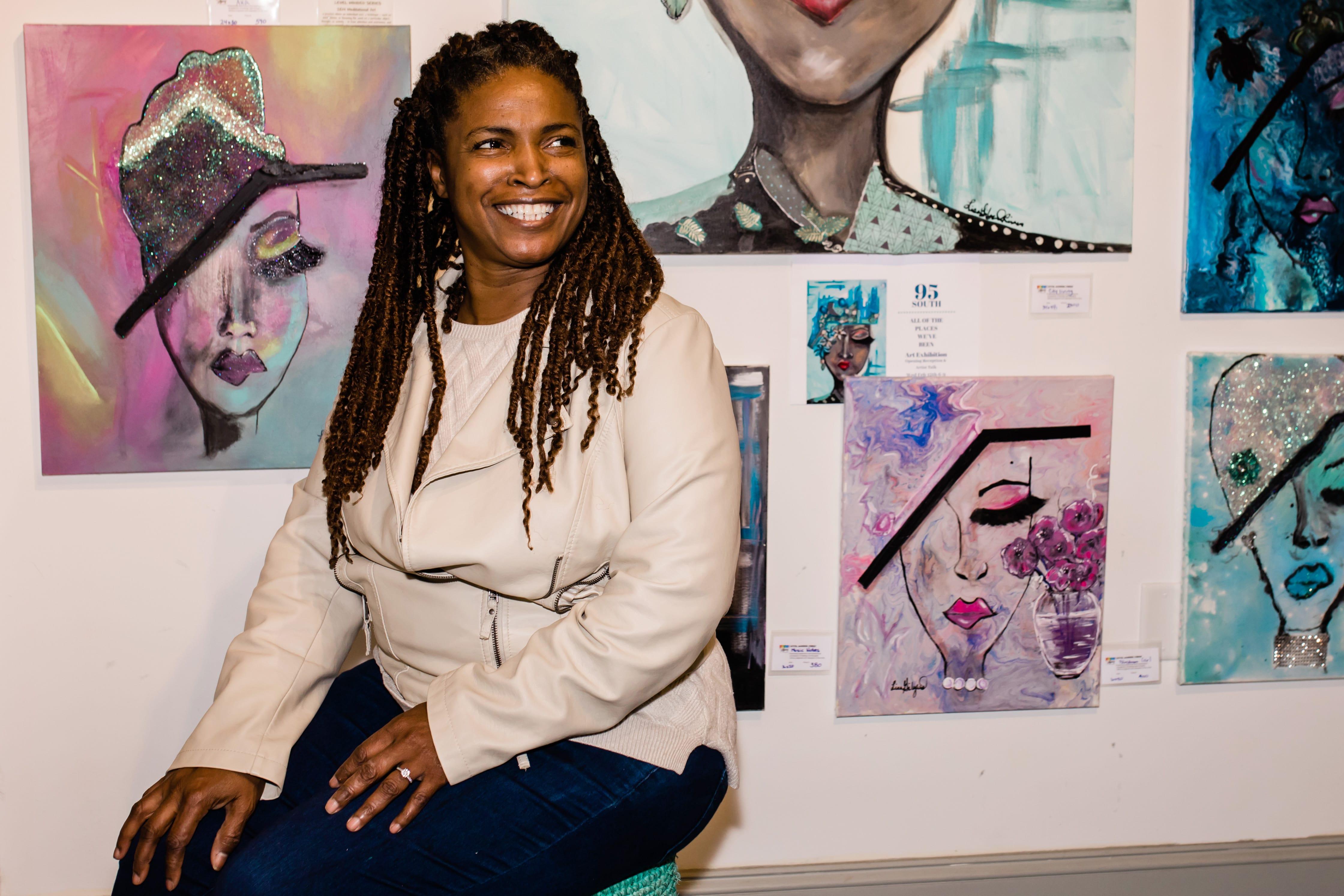 Artist Lisa Rivers